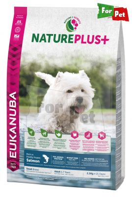 Eukauba Eukanuba NaturePlus Adult small salmon 2,3kg