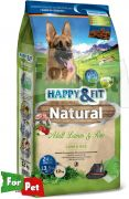 Happy&Fit Natural Adult Lamm&Reis 12kg