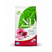 N&D N&D GRAIN FREE CSIRKE+GRÁNÁTALMA ADULT MEDIUM 2,5 kg