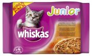 Whiskas -WHISKAS ALUTASAKOS 100G 4-PACK JUNIOR BONUS