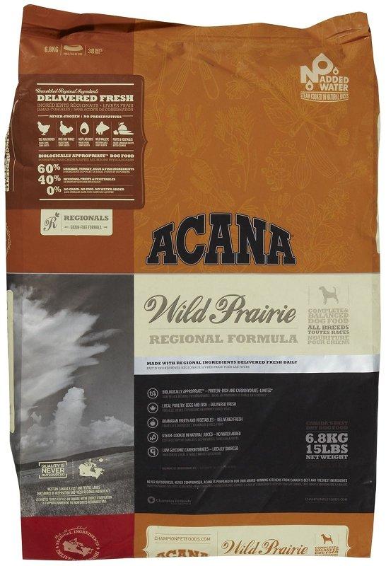 Acana wild prairie dog 13 kg haziallat arak argep for Acana wild prairie dog food